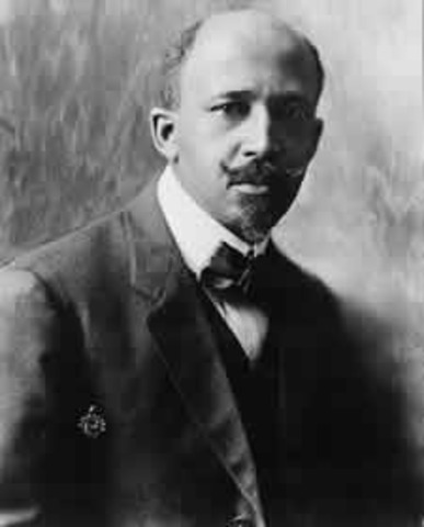 Du Bois Leads African Americans