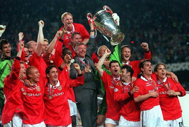 Man Utd win the champions league