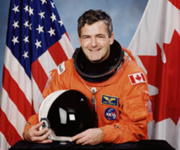 First Canadian in space
