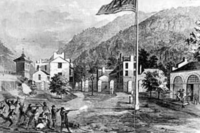 Raid on Harper's Ferry, Virginia