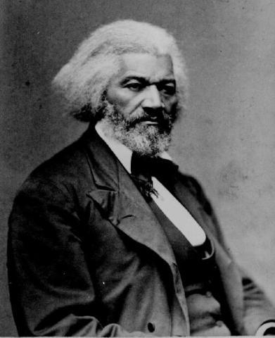 Douglass meets Lincoln