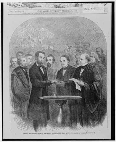 Lincoln Inaugurated