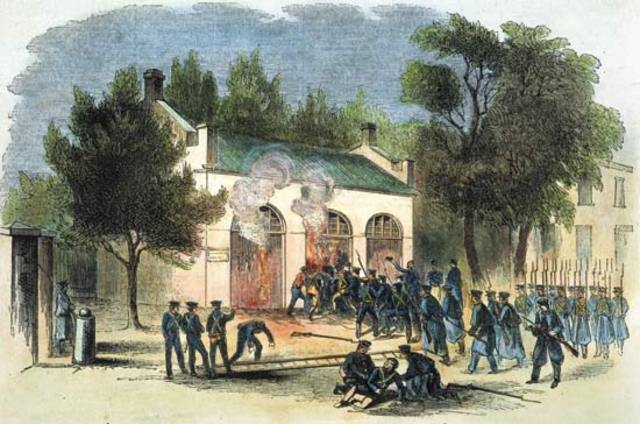 Raid of Haper's Ferry, Virgina