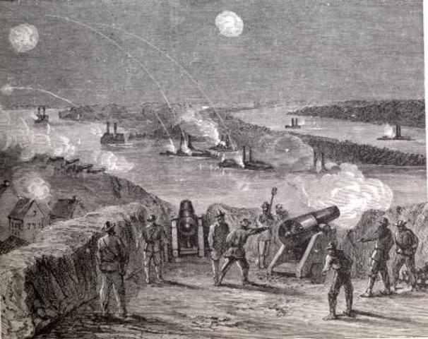 Siege at Vicksburg