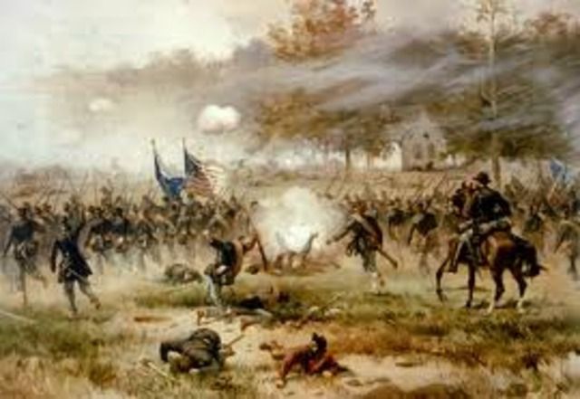 Battle of Antietam (Ends the 18th)