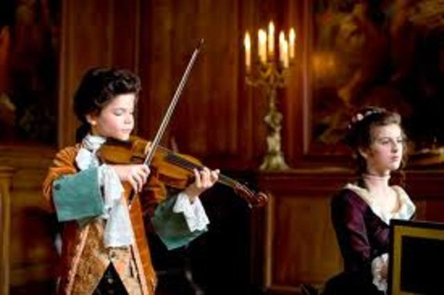 mozart and sister