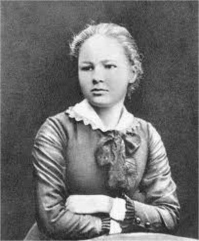 Marie Cuires (child) supuestamente: born