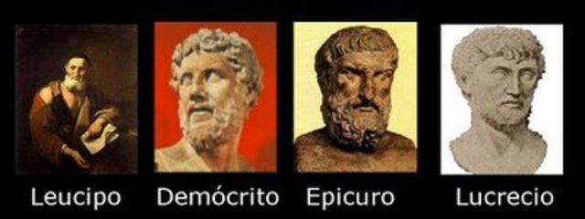a. C. - Atomistas Gregos