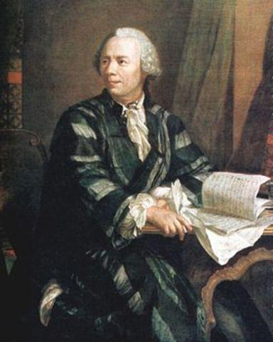 Euler was born in Basel, Switzerland