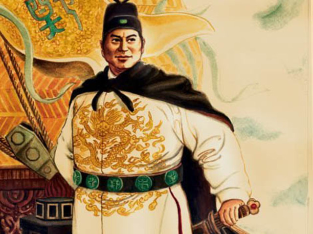 Zheng He begins his voyages in China
