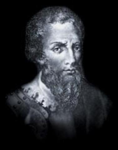 Pedro Alvarez Cabral discovers Brazil