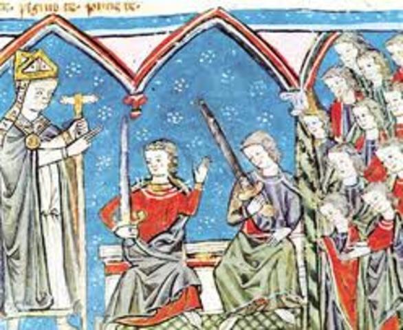 Tuvo lugar su ruptura con el arzobispo
