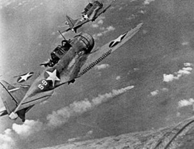 The Battle of the Midway is fought at Midway Islands