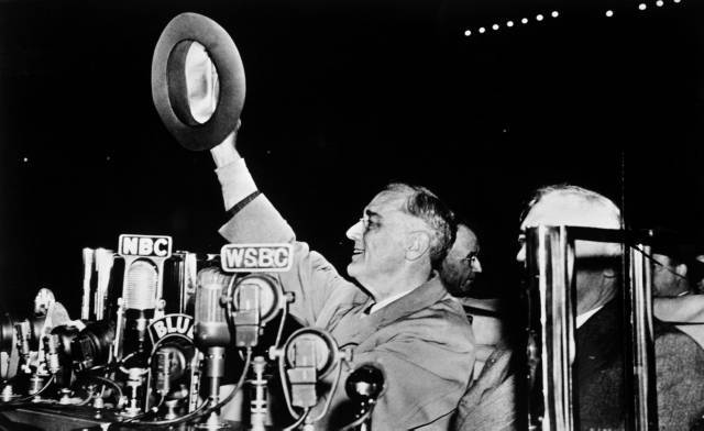 The last campaign speech of Franklin D. Roosevelt