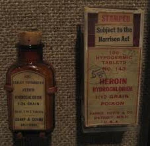 Harrison Narcotics Tax Act