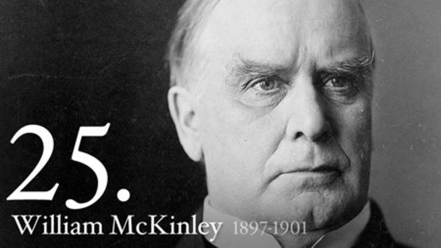 President William McKinley shot