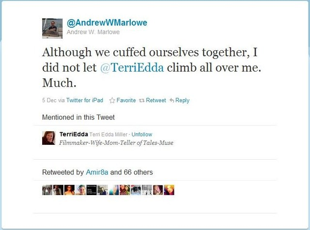 Andrew and Terri on Cuffed