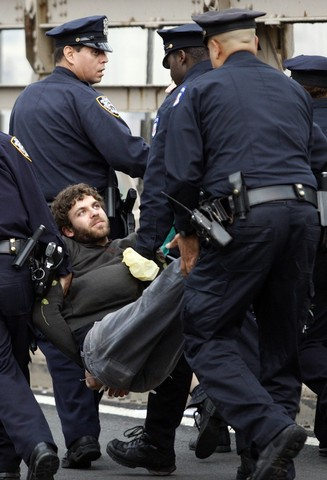 The arrests begin