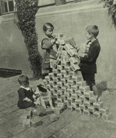 Inflation of Germany Money