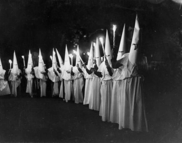 KKK Reemerges