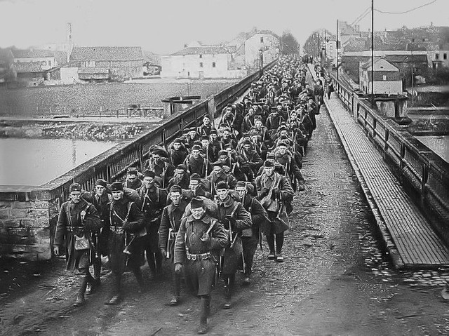 United States enters WWI