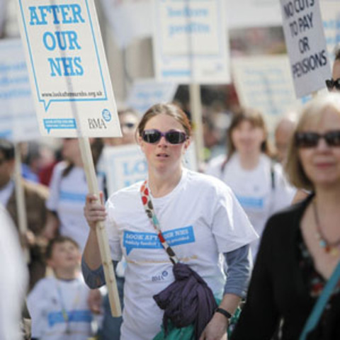 Protests step up over 'doomsday' NHS reforms