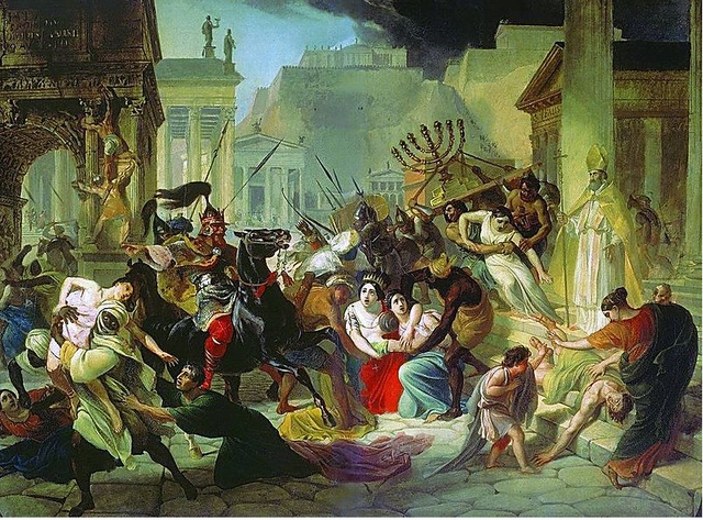Sack of Western Rome by Vandals