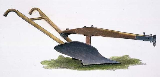 The First Steel Plow by John Deere