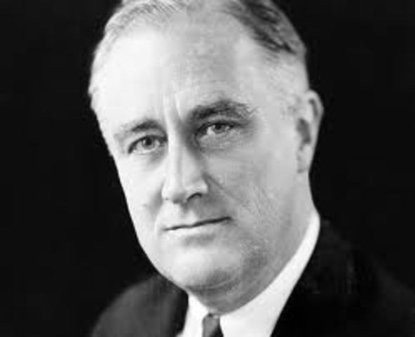 """FDR Declares that America Must Become """"The Great Arsenal of Democracy"""" During One of His Fireside Chats"""