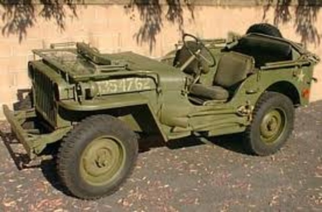 The First Jeep is Produced