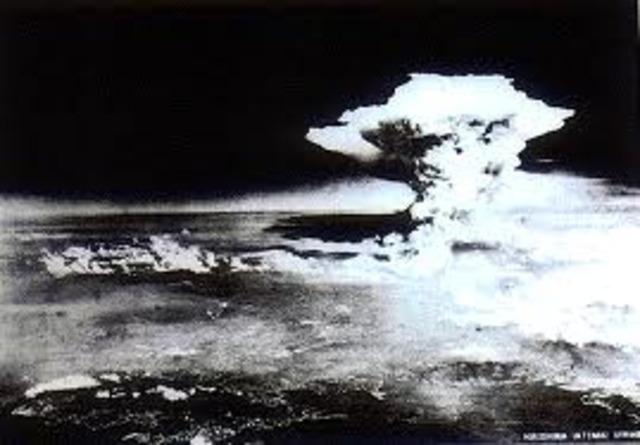 Hiroshima is Bombed