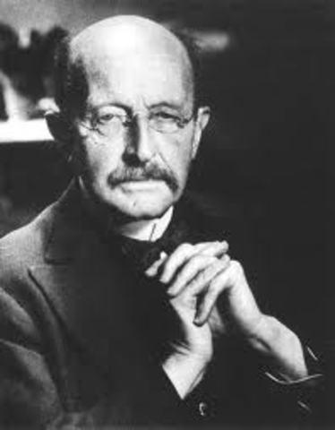 Max Planck was born
