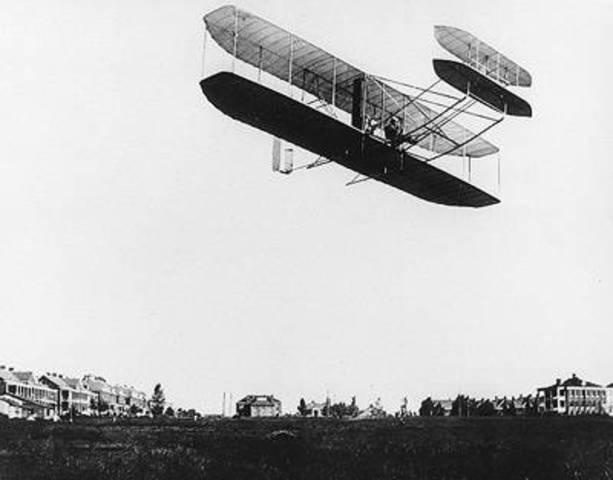 First man-made flight