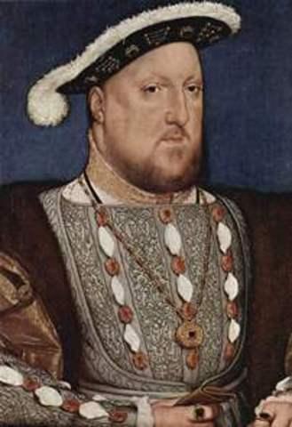 Hendrik VIII sticht de Anglicaanse kerk