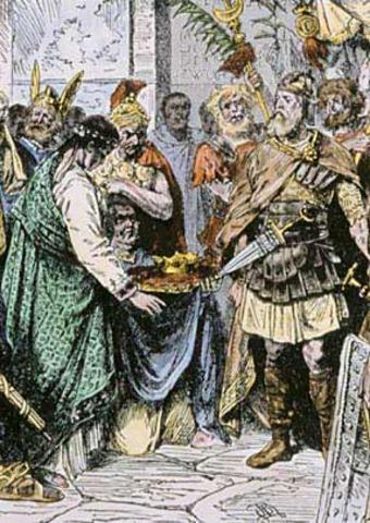 Odoacer Executes Orestes