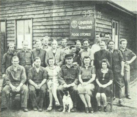 Vladek in a DP camp