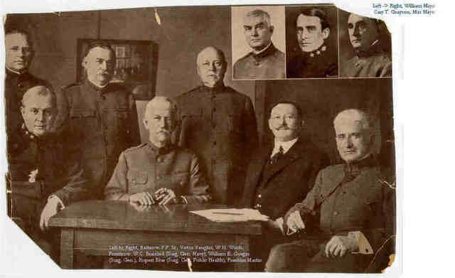 Council of National Defense established