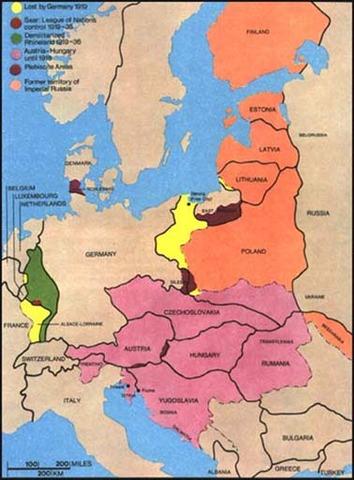Senate defeats Versailles Treaty