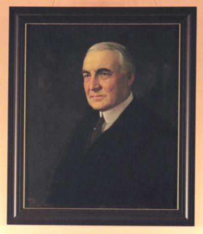 Warren Harding is the next president