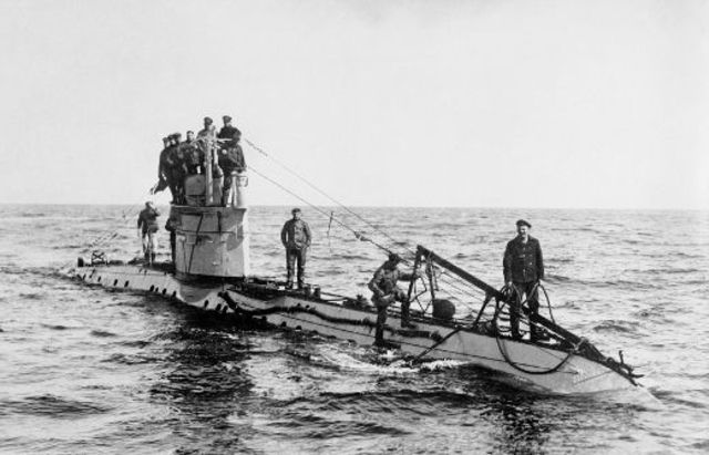 Unrestricted submarine warfare