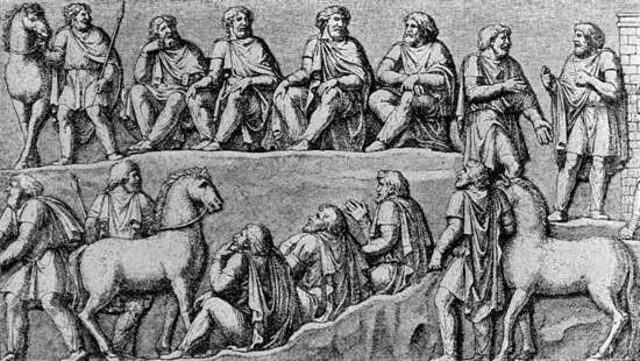 Visigoths Migrate to Rome