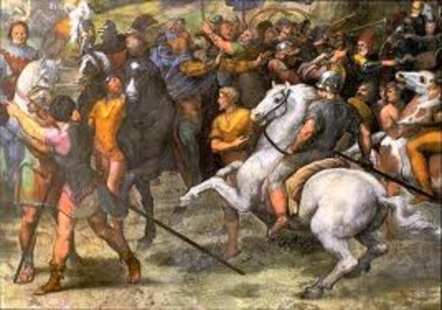 The Hun Invade Italy