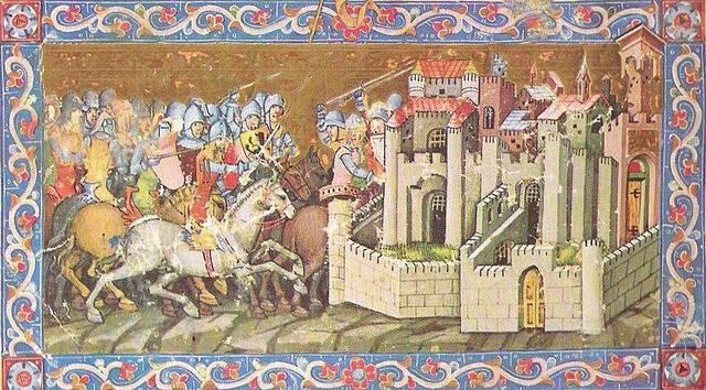 Huns capture Roman Forts