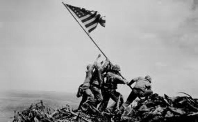 U.S. enters the war