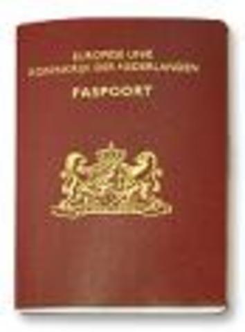 Drukken van legitimatiepapieren waaronder het paspoort