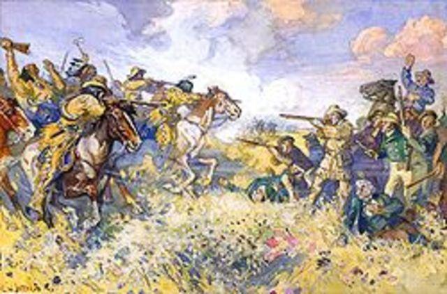 Battle at Seven Oaks