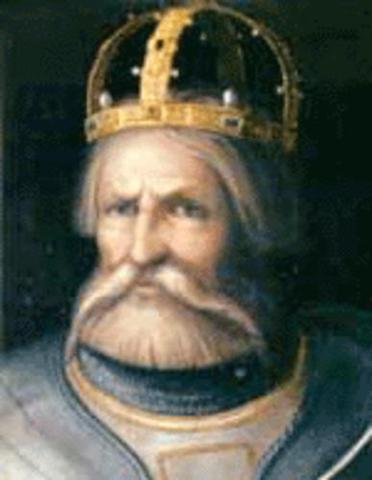 FEDERICO BARBARROJA, EMPERADOR DEL SACRO IMPERIO ROMANO GERMÁNICO