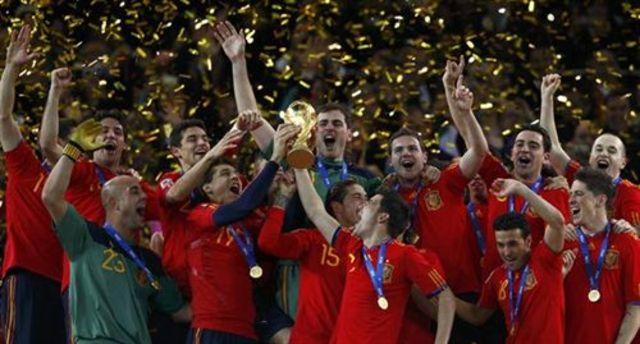 España campeona del Mundial de Fútbol