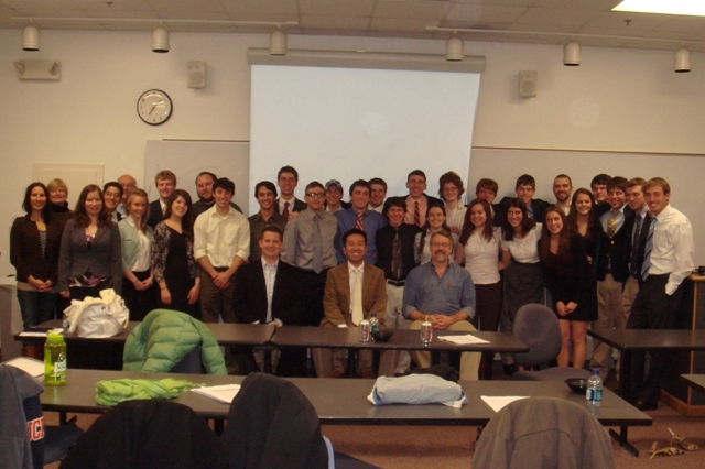 Bucknell Students Present Renewables Research