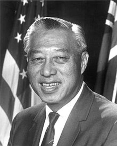 First Asian American U.S. Senator